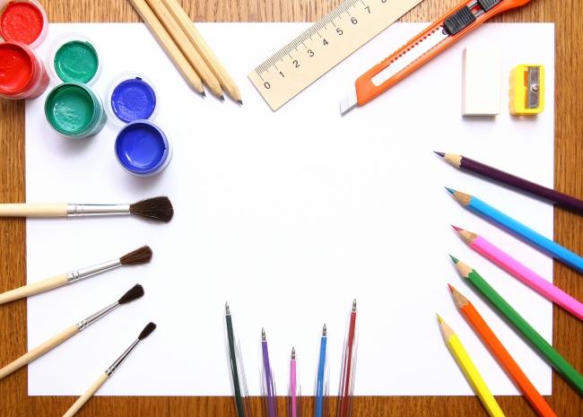 zol素材 高清图片 生活用品图片 彩色笔白纸高清图片  z金豆:0 下载量